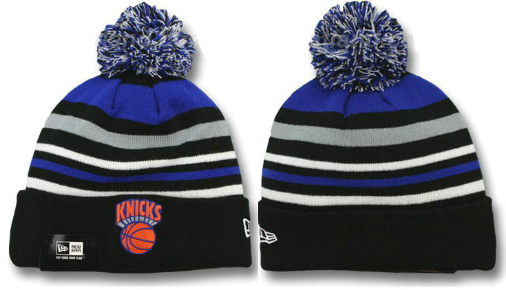 New York Knicks Stripe Beanie DF